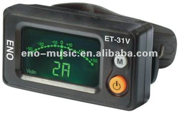 Digital Clip-on Violin Tuner ET31V