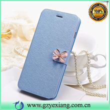 Book style flip case for Samsung galaxy s3 leather waterproof protective case