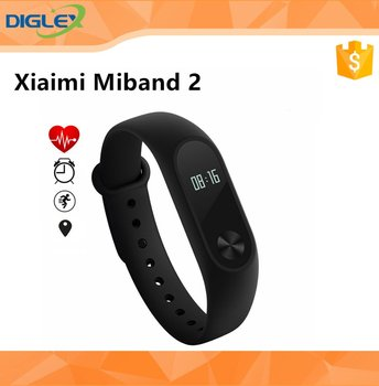 "Chinese/Globle Version Xiaomi MiBand 2 Smart Bracelet 0.42"" OLED Display/ Touch Key Control/ Call Reminder/Android iOS"