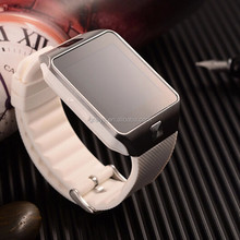 Hot smart android 4.4 ip68 waterproof 3G wifi GPS wrist watch phone with tv