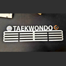 Hoge kwaliteit customization metalen sport Taekwondo Medaille houder display hanger