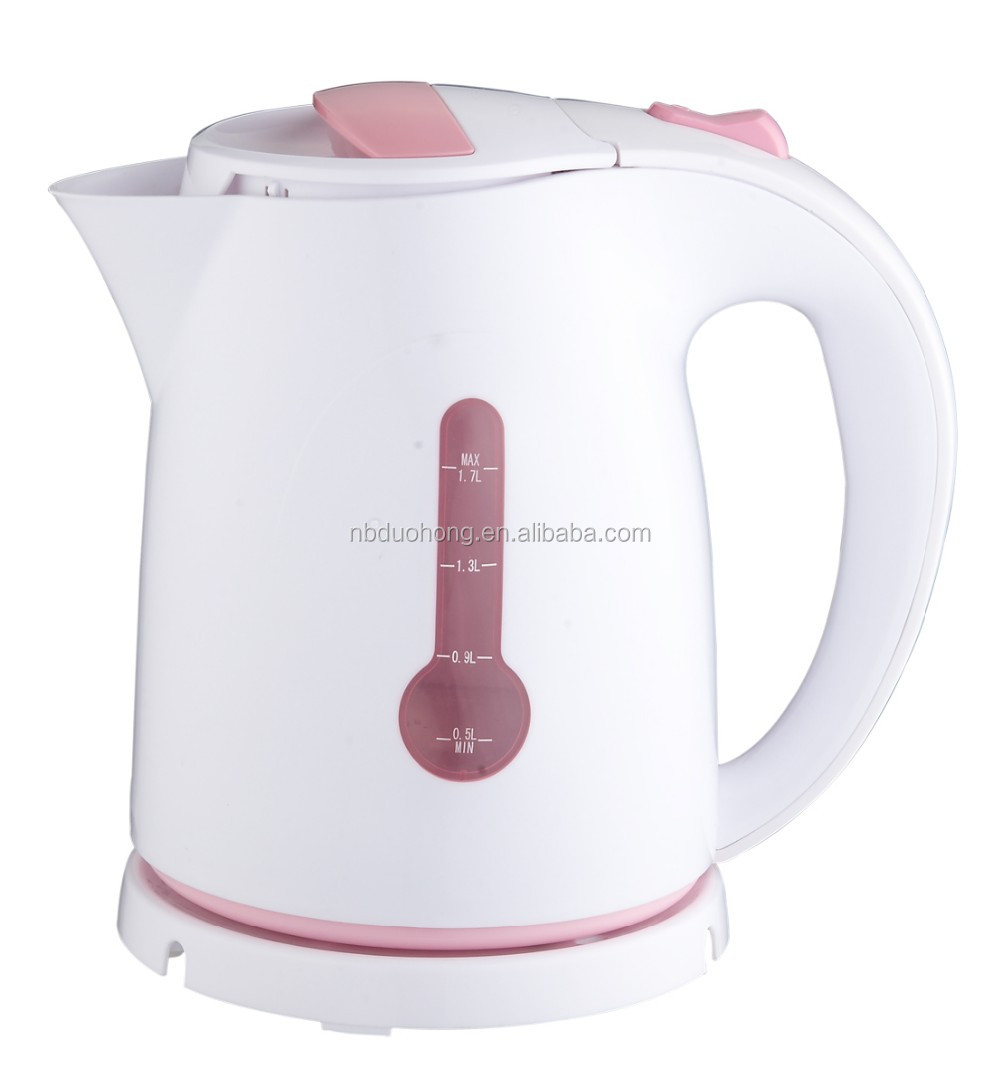 1.8L 2000W Electrical Appliances Automatic Shut-off Plastic Best Electric Kettle With Led Light