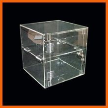 OEM ODM custom made transparent clear acrylic display cabinet