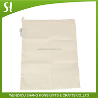 bag wholesal china Household Natural Extra Large Cotton Laundry Bag