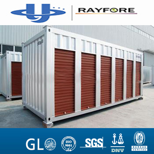 rolling shutter door 20GP side open Storage shipping Container for sale