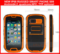 "2014 new products IP68 QUAD CORE 4.3""ANDROID SMART MOBILE PHONE ,GPS,AGPS , PTTand NFC optional"