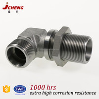 carbon steel 90 degree hydraulic compression elbow pipe fittings