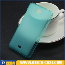 Factory wholesale soft jelly tpu case for nokia lumia 430 back cover