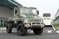 140HP Euro4 Dongfeng Camions 4x4 EQ2070F Off-Road Truck
