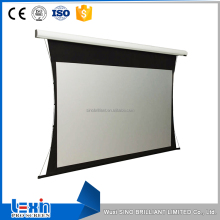 Superb Black Rear Projection Tab Tension Screen Fabric