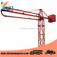 constriuction building construction equipments 12m manual stationary concrete placing boom