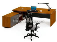 Guangzhou High Quality Modern Wooden Manager Office Executive Table (FOH-R2420-C)