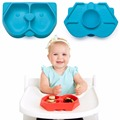 RENJIA silicone bowl kids placemat dining mat with plate