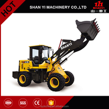 Shandong construction mini wheel loader small tractor with front end loader