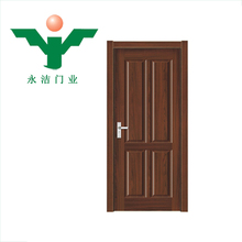 Wooden Interior plywood house pvc bedroom door price