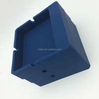 Hot Sale high quality eco friendly promotional personalized cheap silicone portable pocket ashtray