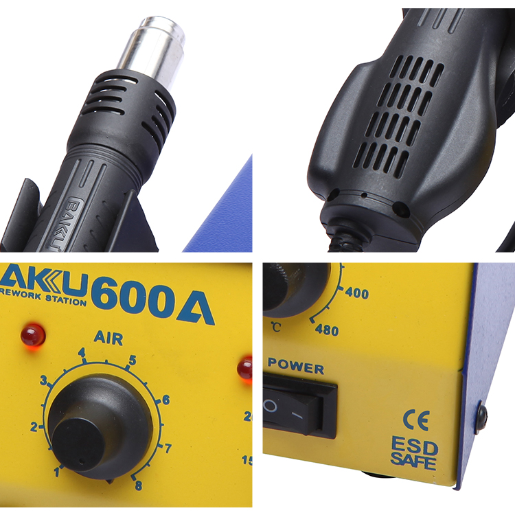 BAKU new quality mobile phone bga rework station BK600A