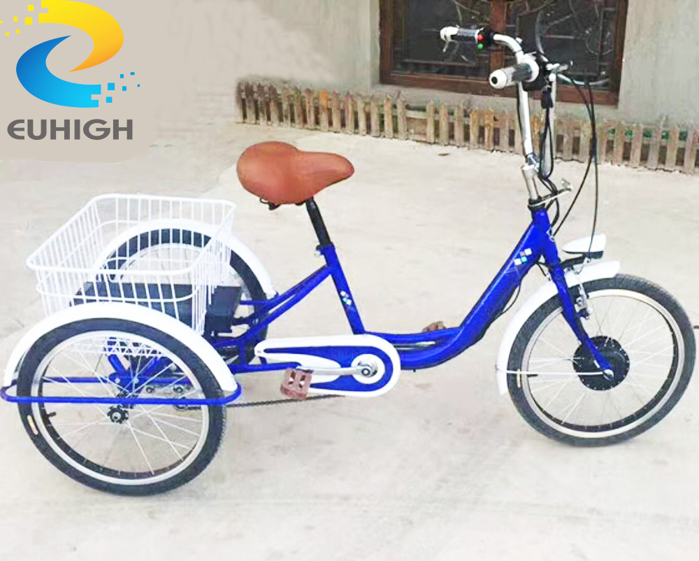 Utility bicycle electric tricycle 3 wheel