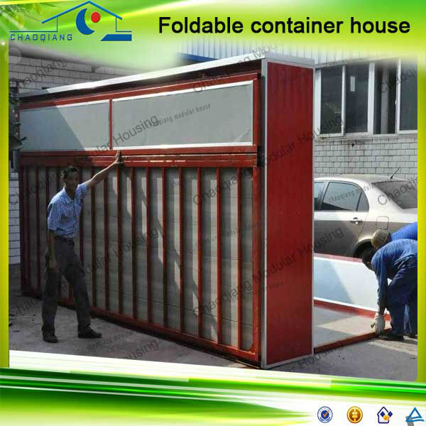New Type Design Side Loading Movable Foldable Casa Container Homes China