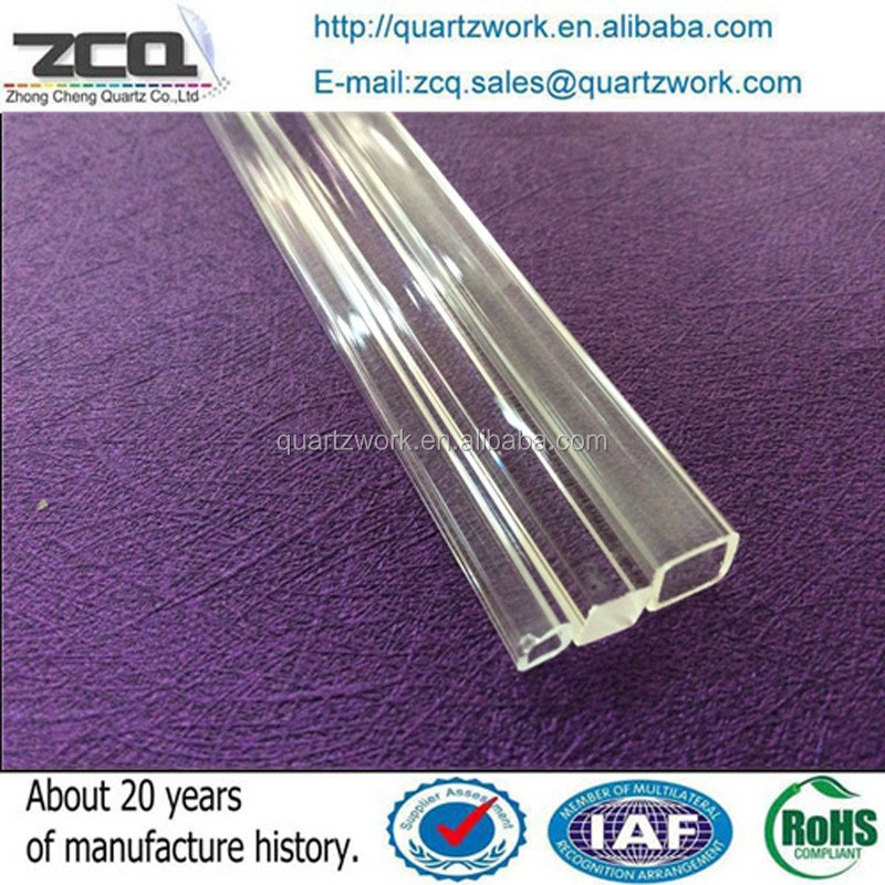2016 The Newest Wholesale Square Quartz Tube For Lab