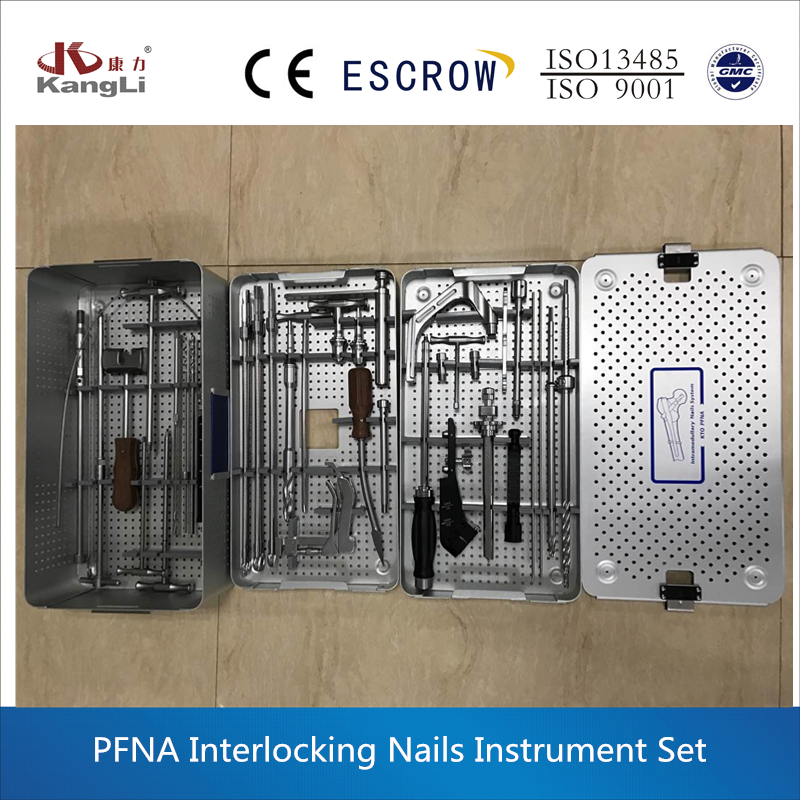 Orthopedic instruments, PFNA instrument set,surgical instruments