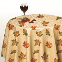 WF-4389 Vinyl tablecloth with non-woven/fannel backing
