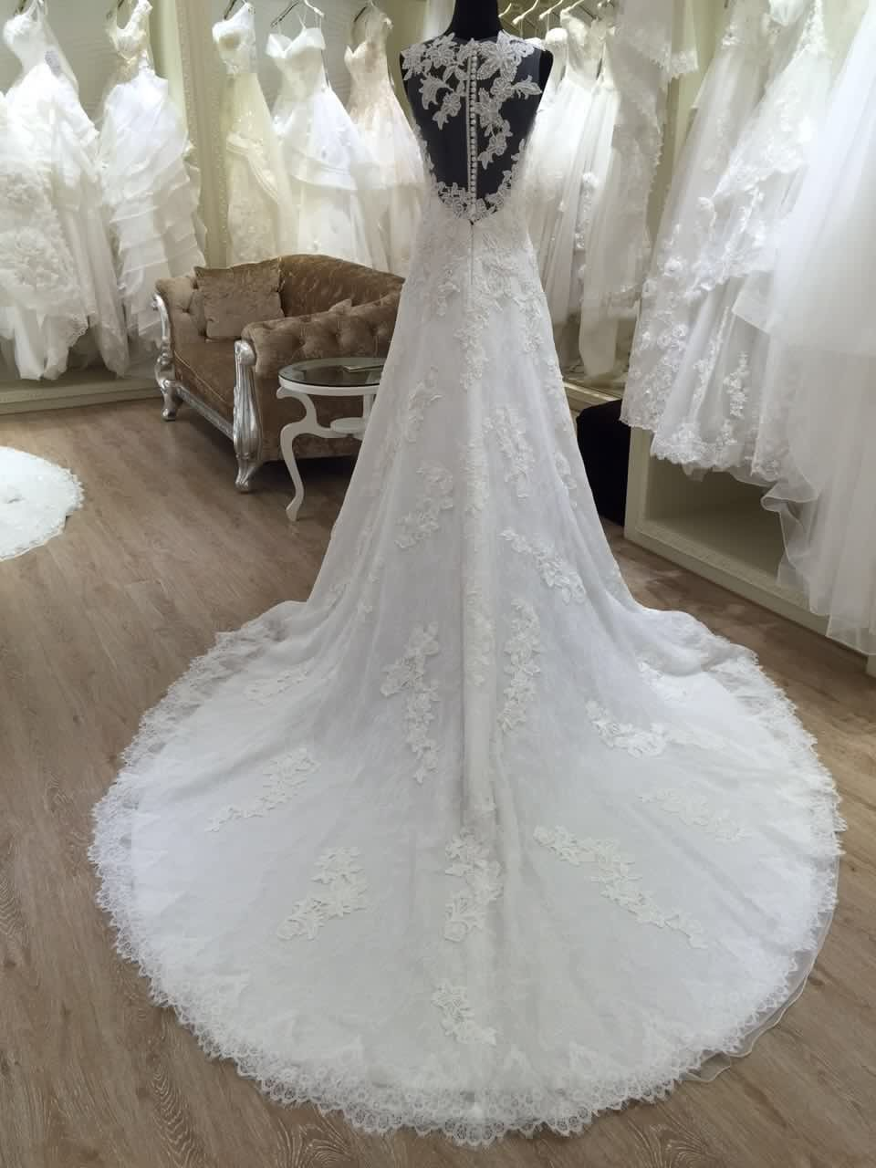2016 spanish style lace wedding dresses made in china for Wedding dresses in china