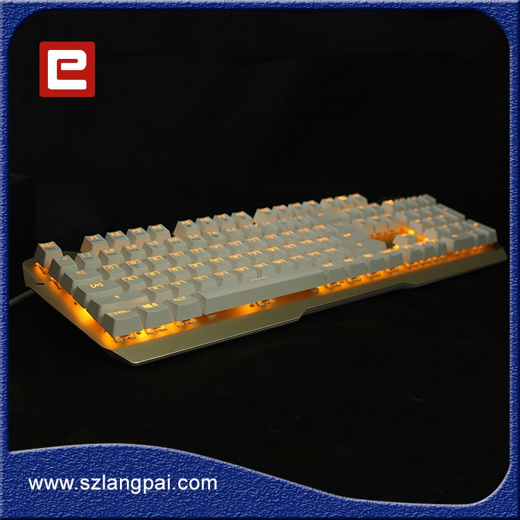 Professional Multi-color Keycaps LED Gaming Mechanical Keyboard