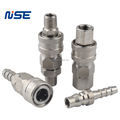Stainless Steel Pneumatic Quick Release Coupler SUS304 air quick coupling