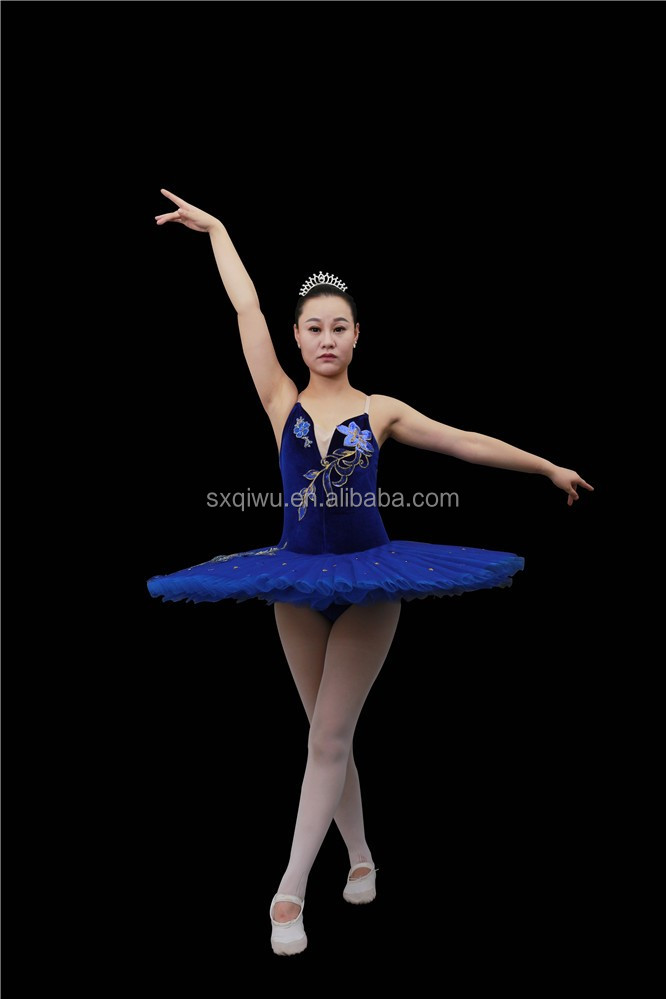 New blue classic ballet tutu/Professional adult ballet tutu/ballet dance wear ABT-047