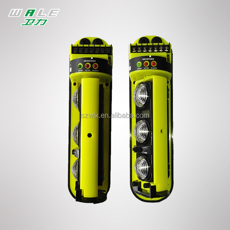 Wired/Wireless Outdoor Photoelectric active infrared beam detector, infrared barrier beam detector alarm