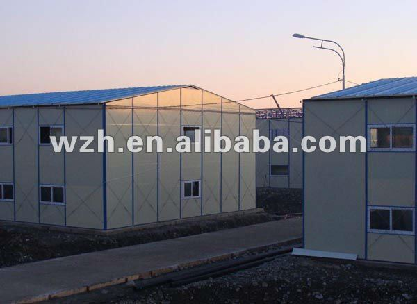 Prefab B.V. certified 20ft living container House combined into 40FT container home prefabricated movable container house