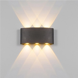 outdoor waterproof wall light led antique wall mounted up and down decorative nordic wall sconce