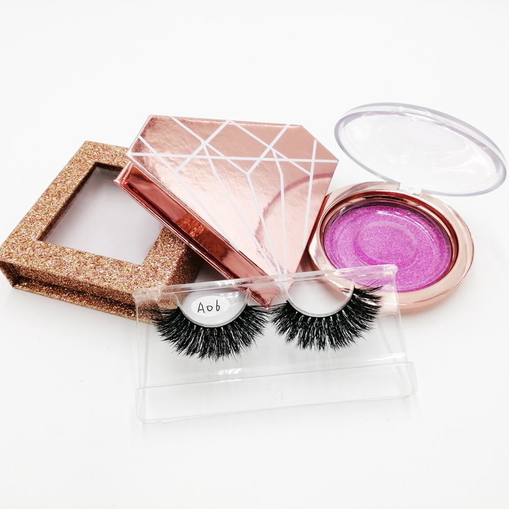 2019 New design private label Natural 3d mink eyelashes for make up <strong>A06</strong>