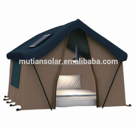 Outdoor camping use portable solar energy generator for camping