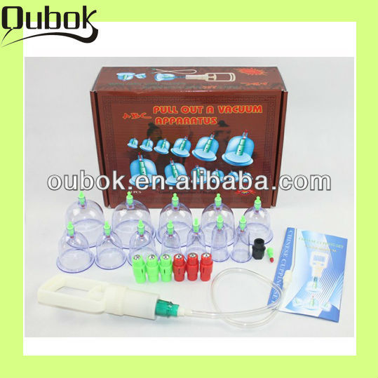 Hot selling chinese medicine cupping glass cupping cup OBK-C24