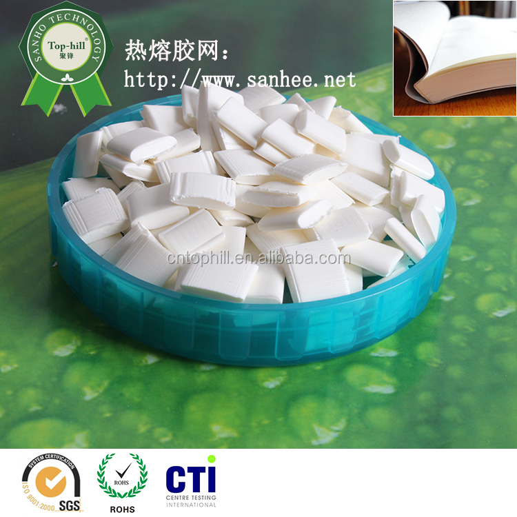 Hot melt glue for paper bookbinding back glue /spine gluing adhesive