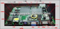3.5 inch industrial motherboard with pc104 and onboard CPU (PCM3-5530)