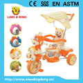 CHILDREN TRICYCLE WITH DRAGON FACE HEAD AND MUSIC AND LIGHT