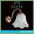 MT-W178 antique brass glass bath mirror lighting,ce/rohs