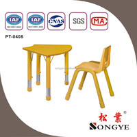 AP good quality play school furniture delhi children study table and chair set