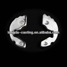 Precision Aluminum Stamping parts OEM punch processing / Automobile seat belt parts