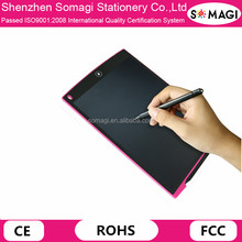 "Blue Portable 12"" LCD Writing Pad Notepad Electronic LCD Drawing Tablet Digital Handwriting Board"