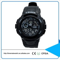Mens Electronic Multifunction Plastic Sports Kids Wrist Watch brand your own watches