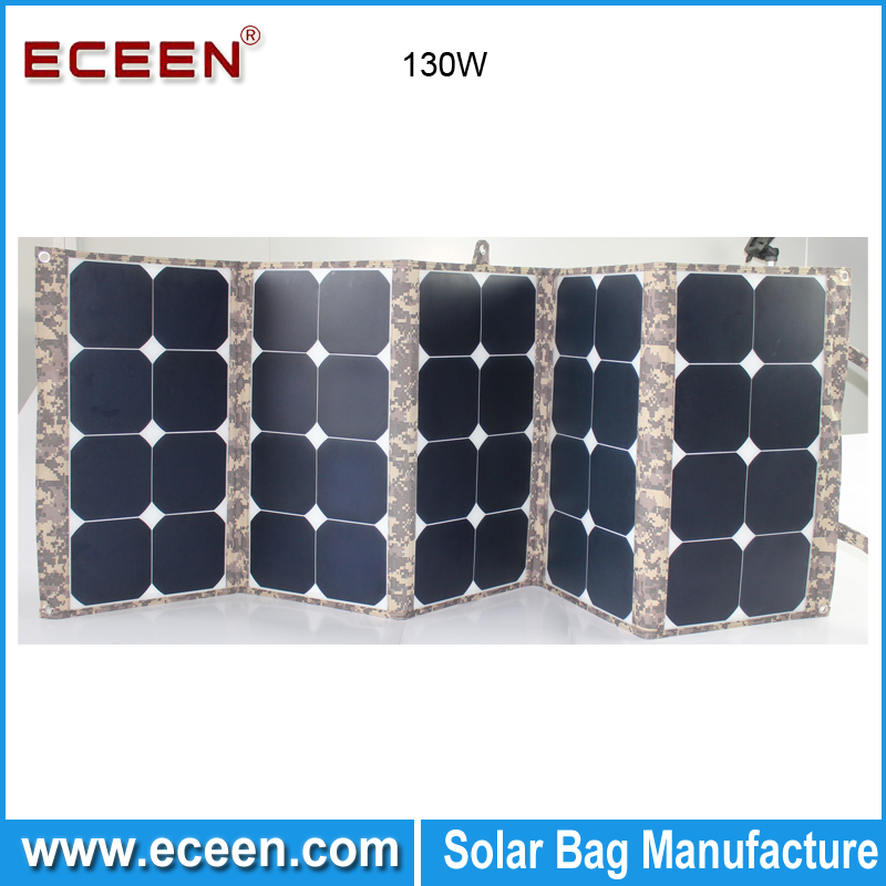 2017 New product 130W sunpower photovoltaic folding cheapest solar panel