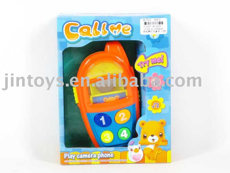 Mobile Phone With Music&Light,Toy Mobile,Toy Cell Phone