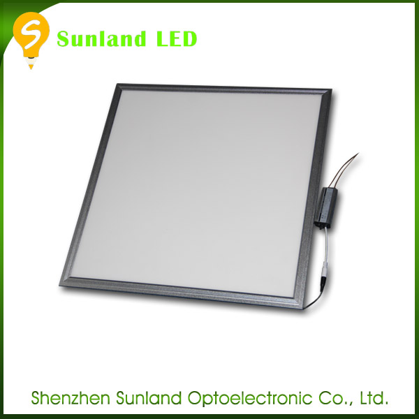 Recessed 36W ceiling square led panel light 60x60 cm, Office led panel lighting