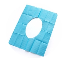 Disposable Waterproof Paper and PE Toilet Seat Cover