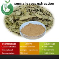 senna leaf tea/cassia angustifolia extract/senna leaves extraction 517-43-1