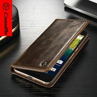 2016 Caseme new premium best selling high quality leather wallet cases covers for Google nexus 6P case cover